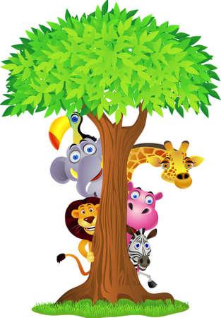 동물 만화 스톡 콘텐츠 - 9699001