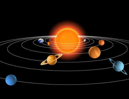 Solar system Stock Vector - 9812462