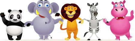 Animal cartoon Stock Vector - 9812461