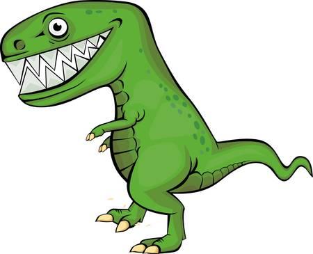 monstrous: Cartone animato di dinosauro