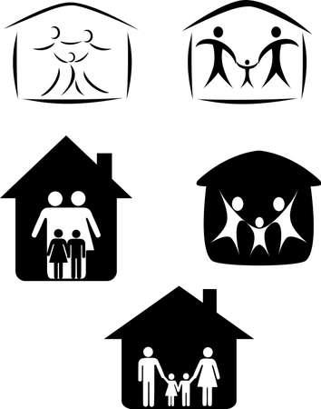 Family symbol Stock Vector - 10057292