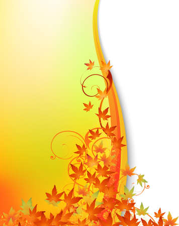 Autumn background Stock Vector - 10178779