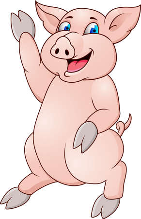 Pig cartoon Stock Vector - 12152506
