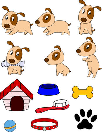Dog cartoon Stock Vector - 12152499