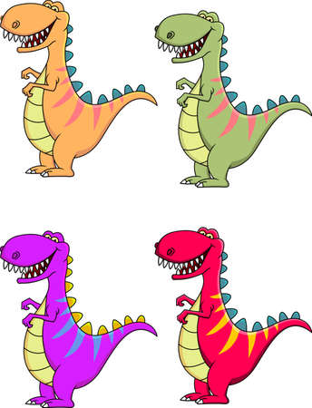 crazy cute: Dinosaur Cartoon