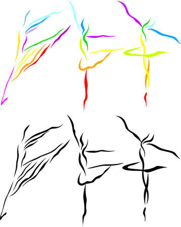T�nzerIn: Ballett Kunst Silhouette