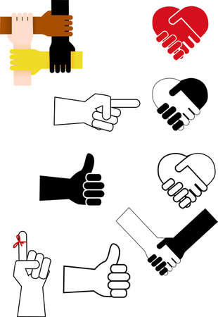Hand Sign Stock Vector - 12152507