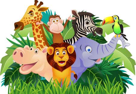babyish animal: Animal cartoon