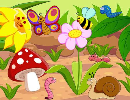 hormiga hoja: de pequeños animales Foto de archivo