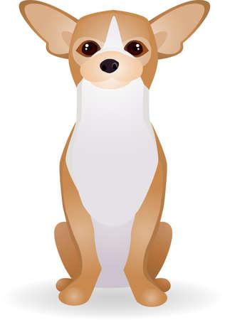 chihuahua dog: Dog Cartoon
