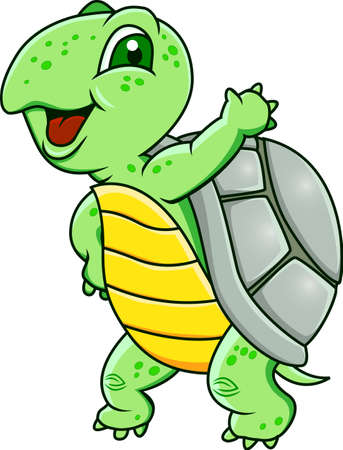 Funny turtle Stock Vector - 12152572