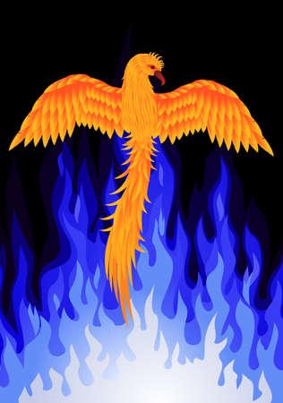 rebirth: Phoenix bird
