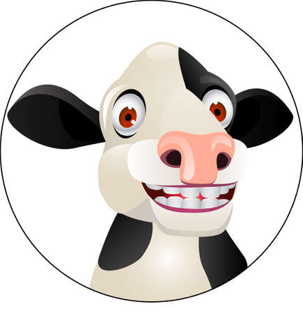cow illustration: Cow cartoon Illustration