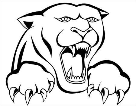 jaguar: Pantera tatuaje
