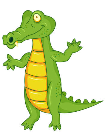 Crocodile cartoon Stock Vector - 12152560