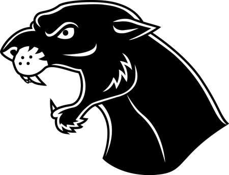 jaguar: Panther hoofd