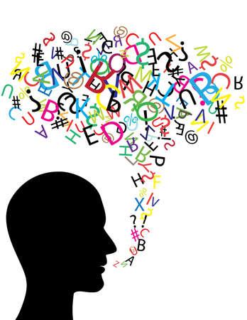 Communication symbol  Ilustrace