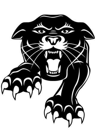 garra: Negro pantera