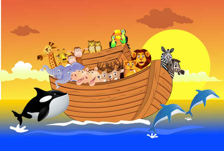 noah: Noah Ark Illustration