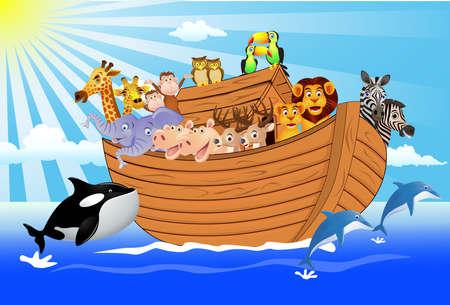 Noah Ark Stock Illustratie