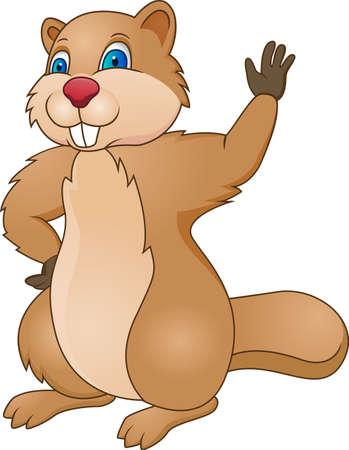 castoro: Beaver Cartoon