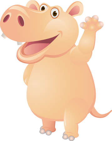 Pig cartoon Vector