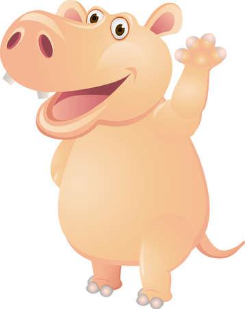Pig cartoon Stock Vector - 13281530