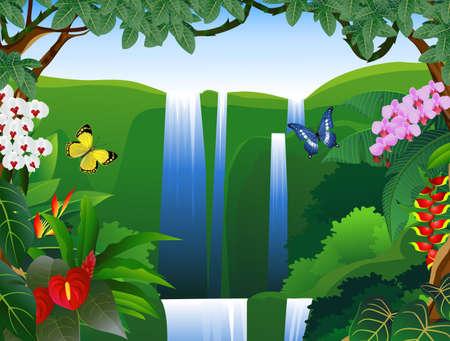 Nature background Stock Illustratie