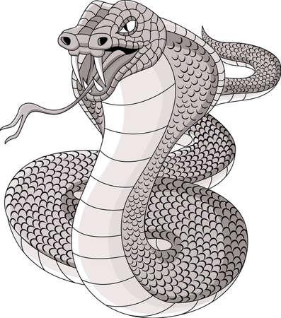 tatto: Cobra tatto Illustration