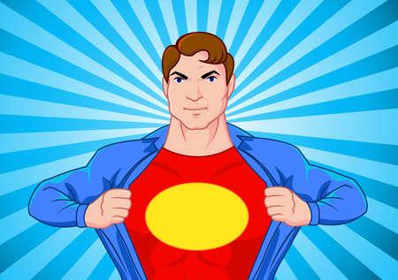 muscle shirt: Superhero encubierto