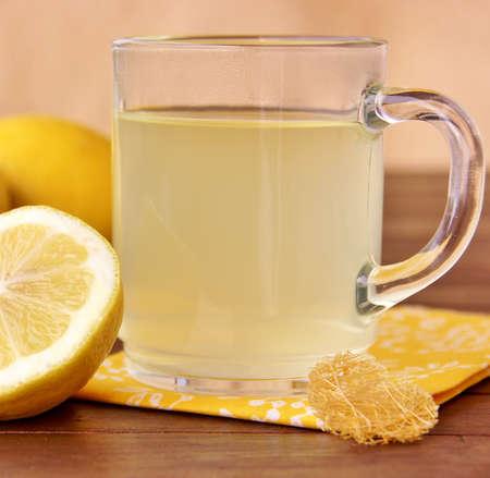 hot lemon Stock Photo