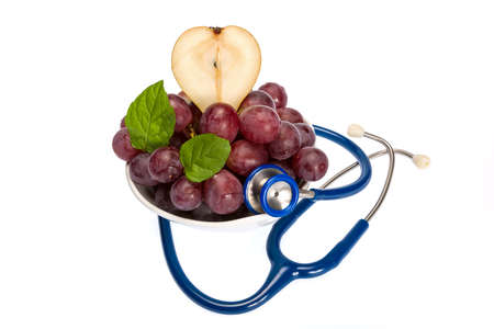 Healthy fruit rich in vitamins strengthens our body