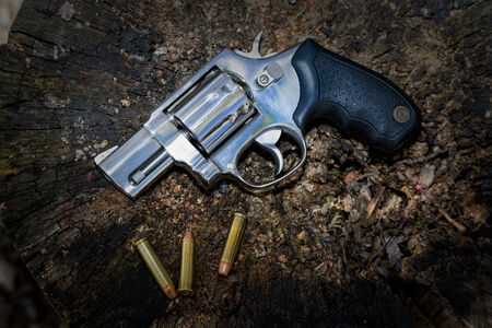 criminologist: Abandoned revolver