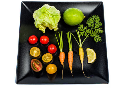Various kinds vegetables are the basis of healthy eating photo
