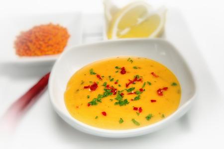 Mercimek Corbasi is a traditional Turkish lentil soup