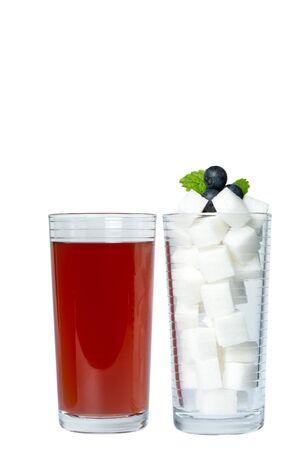 Sweet drinks contain huge amounts of sugar