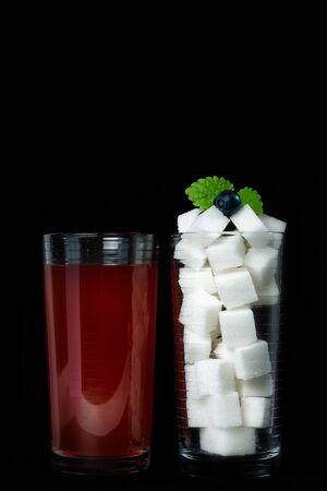 amounts: Sweet drinks contain huge amounts of sugar