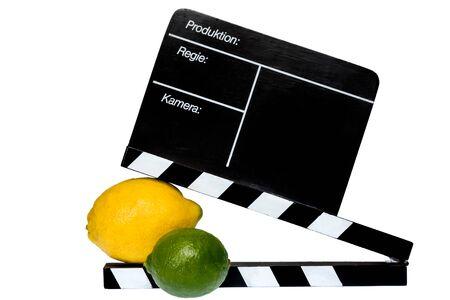 flap: Citrus Story - Lemon, lime and filmmaker flap on stage