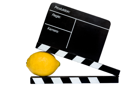 flap: Lemon Story - Lemon and filmmaker flap on stage