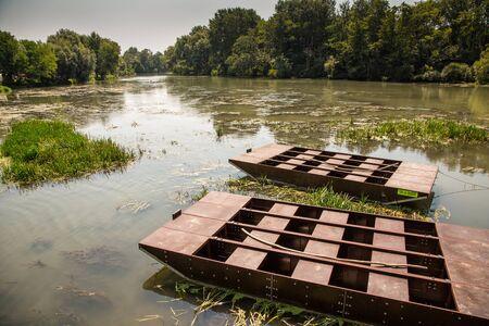 molino de agua: Molino de agua en Pequeño Danubio cerca del pueblo Tomá?ikovo, Eslovaquia, Europa