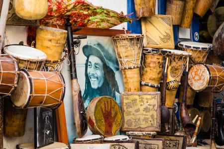ESSAOUIRA, Morocco - 04 November 2015: View from the alleys of Medina in Essaouira Editorial