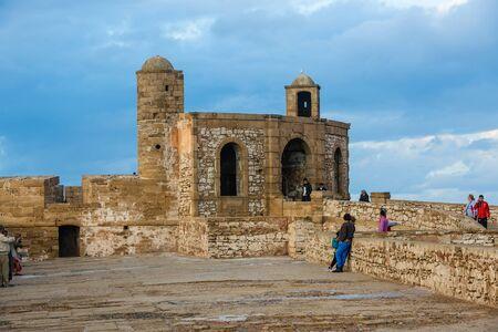 2 november: Essaouira, Morocco - November 2, 2015: The former Portuguese fort Mogador, Essaouira.
