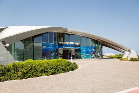 St Pauls Bay, Malta - May 08, 2016: Malta Nationale Aquarium in St Pauls Bay, Malta Editorial