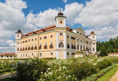 Chateau Milotice in Moravia, Czech Republic