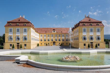 The rear of the castle Schloss Hof in Lower Austria