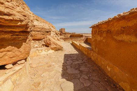aisles: Aisles inside the Ksar Ait Ben Haddou in Morocco.