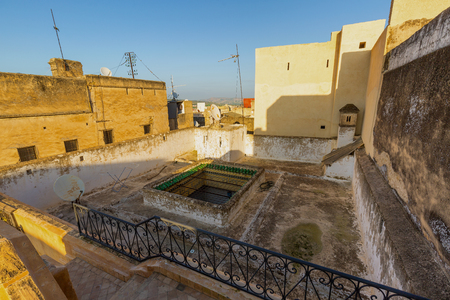 fes: From the roof terrace of Fes Medina, Morocco