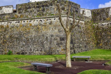 former: Ponta Delgada on the island of Sao Miguel is the capital of the archipelago of the Azores. The former fortress is now the Military Museum.