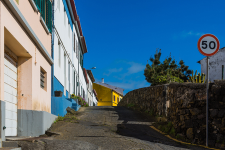 Shots from the Sao Rogue aisles on the Sao Miguel Island, the Azores archipelago in the Atlantic Ocean belonging to Portugal Stock Photo