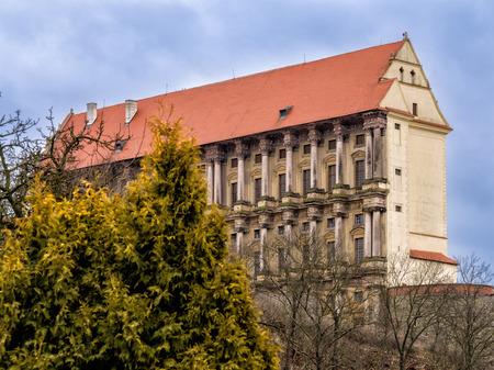 Renaissance castle Plumlov in Moravia, Czech Republic